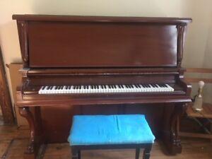 Piano - Heintzman - FREE ON ROADSIDE