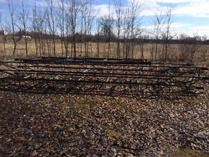 $500  - THERE ARE THREE  20FT X4 FT STEEL FRAME DOCKS