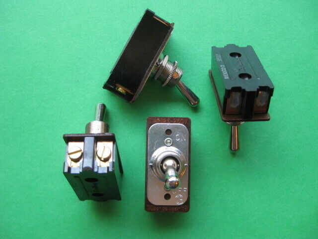 HEAVY DUTY OFF-ON TOGGLE SWITCH for a vintage Delta grinder