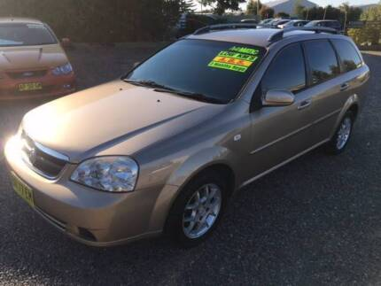 2008 Holden Viva Wagon 3 MONTHS REGO, A/C, P/S