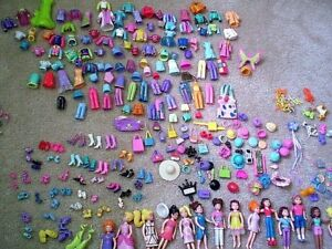 WANTED: Polly pockets with the rubber clothes!!!!
