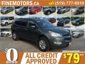 2011 CHEVROLET TRAVERSE LS * 7 PASSENGER * LOW KM * EXTRA CLEAN London Ontario image 1