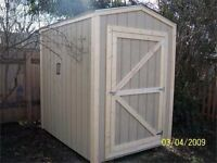 Small wooden shed Wanted