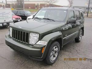 2008 jeep liberty  4x4 great cond,( TRAIL RATED)