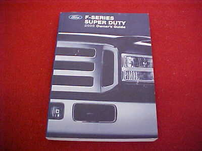 2005 NEW FORD F 250 350 450 550 F250 F350 F450 SD TRUCK OWNERS MANUAL SERVICE 05