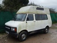 BEDFORD CF 370 MOTORHOME CAMPERVAN, RUNS DRIVES, M.O.T EXPIRED, SPARES REPAIR PROJECT