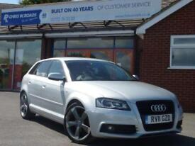 2011 11 AUDI A3 2.0 SPORTBACK TDI S LINE SPECIAL EDITION 5DR DIESEL