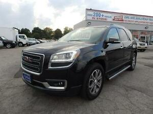 2013 GMC Acadia SLT AWD DUBLE SUNROOF LEATHER, DVD ONE OWNER