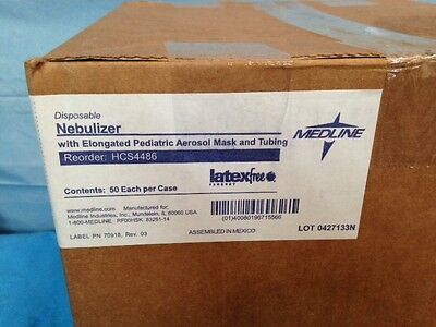 Nebulizer With Elongated Pediatric Aeroson Mask And 7 Foot Tubing Hcs4486