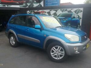 2003 Toyota RAV4 ACA21R Cruiser (4x4) Blue 4 Speed Automatic 4x4 Wagon Greenacre Bankstown Area Preview