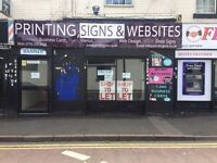 Shop to let on popular Ladypool Road