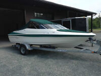 2000 CAMPION 19.5FT BOWRIDER 4.3L W/ TRAILER