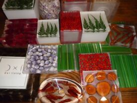 Christmas Presents Gifts JOBLOT handmade resin, boxes, picture frame coasters X19