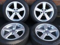 """Genuine 16"""" Volvo V40 (2013) Alloys Alloy Wheels Tyres S40 C30 Ford Focus Mondeo C Max S Max Connect"""