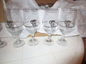 1988 Olympic water glasses set of 12 London Ontario image 1