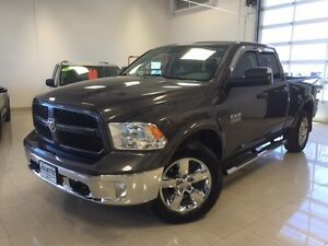 2014 Ram 1500 OUTDOORSMAN 4X4 DIESEL QUAD CAB BT 6 UCONNECT