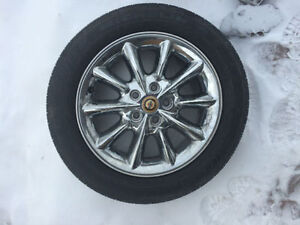 Chrysler Sebring all seson tire with rim - one tire only