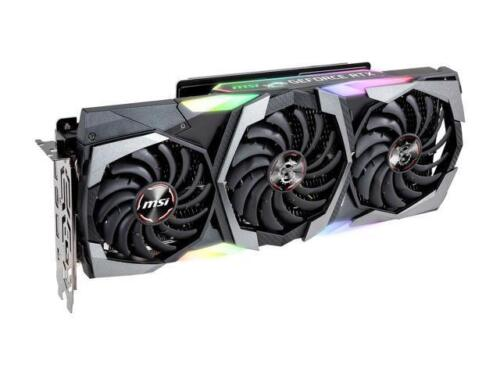 MSI GeForce RTX 2080 GAMING X TRIO Video Card 8GB 256-Bit GDDR6 1