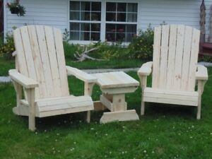 Heavy duty Adirondack chairs,free Truro delivery two or more