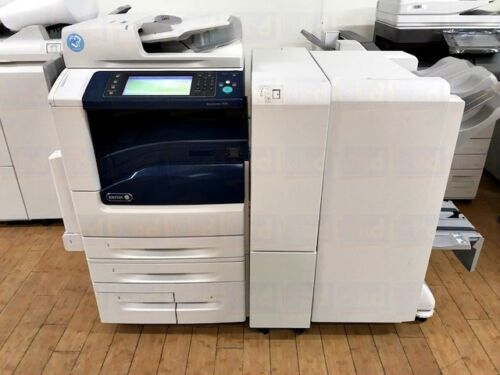 Xerox Workcentre 7970i A3 Color Printer Copier Scanner Fax Finisher 250k 7970