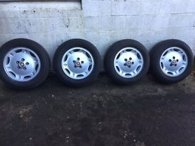 Jaguar alloy wheels, fitted with Pirelli tyres