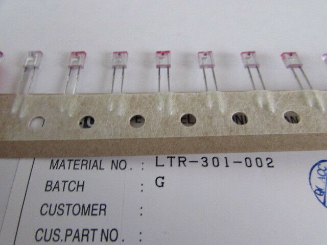 LTR-301-002 Lite On Phototransistor NPN Plastic Side Look Quantity 10 pieces NOS
