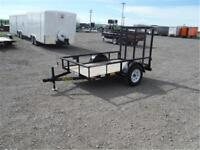 5 X 8 UTILITY TRAILER **SPARE TIRE INCLUDED** 2,995 LB. GVWR