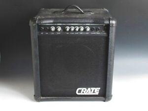 crate bx25 bass guitar amplifier power amp ebay. Black Bedroom Furniture Sets. Home Design Ideas