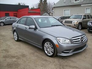 2011 Mercedes-Benz C-Class C250 4 MATIC All-wheel SUNROOF APPLY