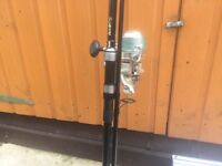 Nash Pursuit XS Outlaw Marker Rod WITH Big Pit Reel - Only £90! - Mint Condition- New Braid On Reel