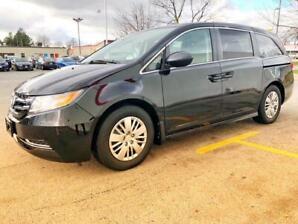 2014 Honda Odyssey LX/No Accident/Backup Cam/BT/7 Passengers
