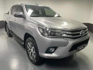 2018 Toyota Hilux GUN126R SR5 Double Cab 6 Speed Sports Automatic Utility Hamilton East Newcastle Area Preview