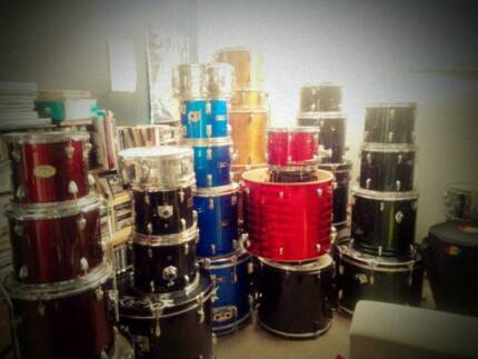 Warehouse SALE Drumkits, Drumgear, Hardware, Cymbals Clearance