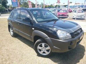 2006 Hyundai Tucson MY06 Upgrade City Black 4 Speed Auto Selectronic Wagon Brownsville Wollongong Area Preview