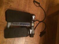 Twist stepper exercise machine