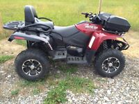 TRV 700 - 2 up seat Mint Condition only 116 km's