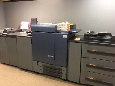 Konica Minolta Bizhub Press C8000 Color Copier Printer 17m Copies 2k Parts