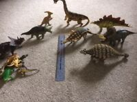 Large bundle of dinosaurs - great collection of good quality figures