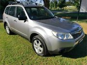 2010 Subaru Forester MY10 XS Silver 5 Speed Manual Wagon Tuggerah Wyong Area Preview