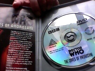 Doctor Who - The Caves Of Androzani  - Peter Davison is Dr Who - original 1 disc
