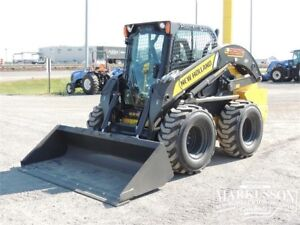 New Holland L225 Skid Steer - 82HP, A/C, Heater, NO DEF, REDUCED