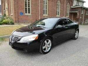 2007 Pontiac G6 GT Convertible+Certified+Leather ONLY $6999