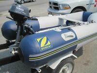 Great Price! Zodiac Inflatable 260 S with Yamaha 2.5hp Outboard