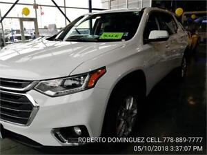 2018 Chevrolet Traverse LT Cloth AWD V6 Cylinder Engine 3.6L