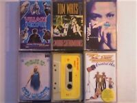 A-Z VILLAGE PEOPLE T WAITS CRYSTAL WATERS ANDY WILLIAMS D WILLIAMS ZZ TOP PRERECORDED CASSETTE TAPES