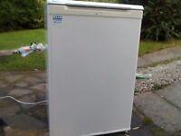 Fridge with freezer box