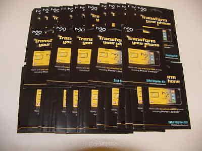 H2o - 3-in-1 Sim Card - Yellow