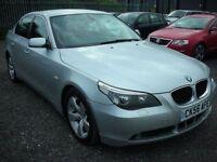 BMW 5 SERIES 2.0 520D SE 4d 161 BHP (silver) 2006