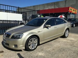 "2007 Holden Caprice WM MY08 ""LUXURY MANY EXTRAS"" Gold 5 Speed Auto Active Select Sedan Underwood Logan Area Preview"