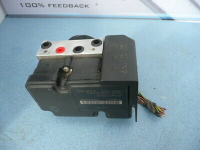 Peugeot 207 ABS control module & pump - Part Nos 10.0970-1153.3  9665344180